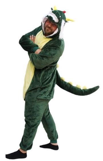 kigurumi pijama de dinosaurio 1