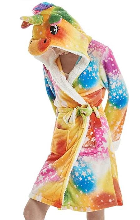Bata de Unicornio Multi Color