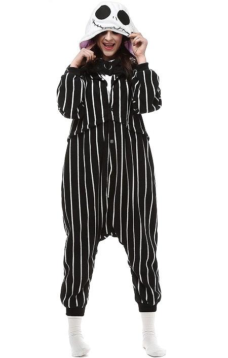 Kigurumi pijama de «Jack Skellington»
