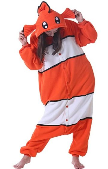 Pijama disfraz de Nemo