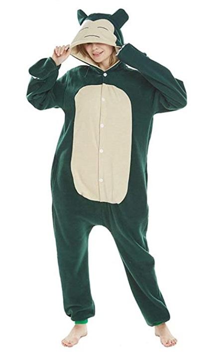 Kigurumi pijama de «Snorlax»