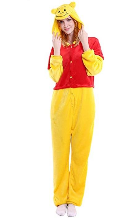 Kigurumi pijama de «Winnie Pooh»