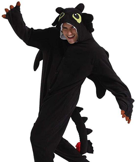 Pijama kigurumi de Chimuelo