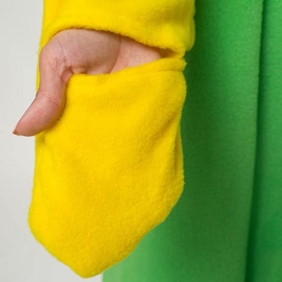 Pijama de Loro Verde