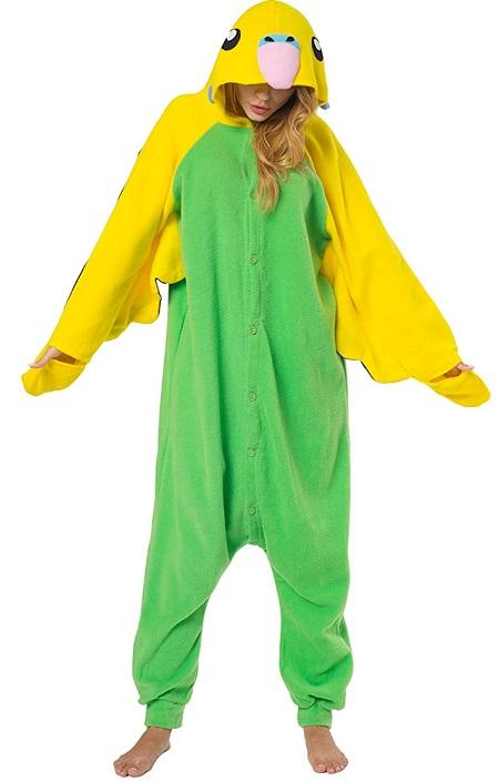 Kigurumi Pijama de «Loro Verde»
