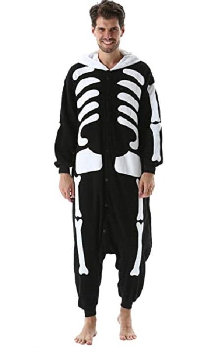 kigurumi esqueleto foto