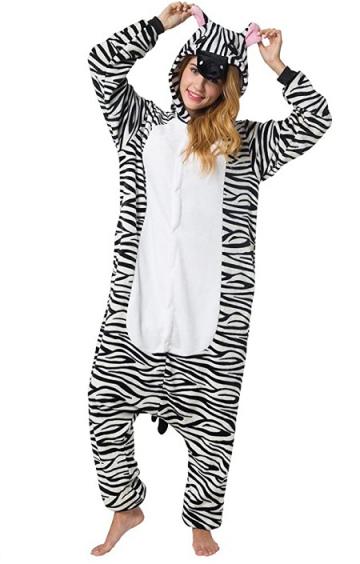 Pijama de zebra