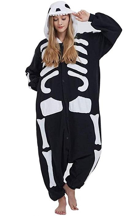 Pijamas de esqueleto