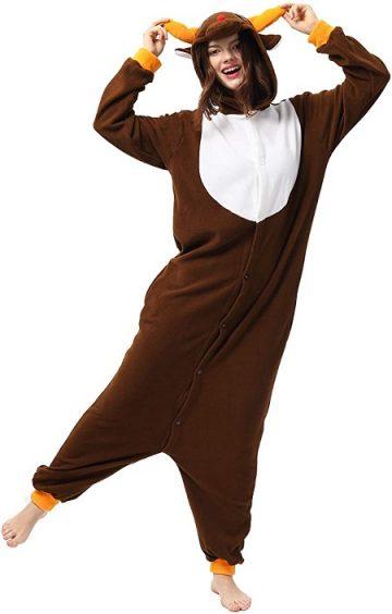 Pijama de ciervo