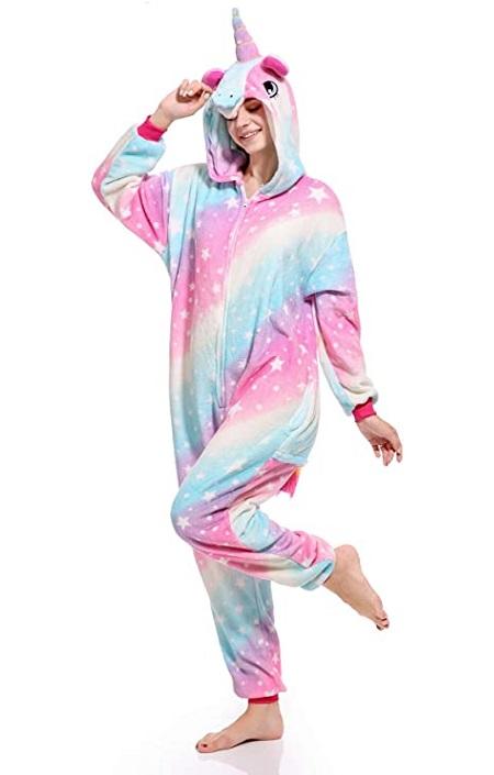 Kigurumi pijama de «Unicornio Mermelada»