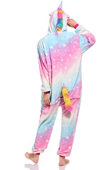 kigurumi pijama disfraz de unicornio mermelada
